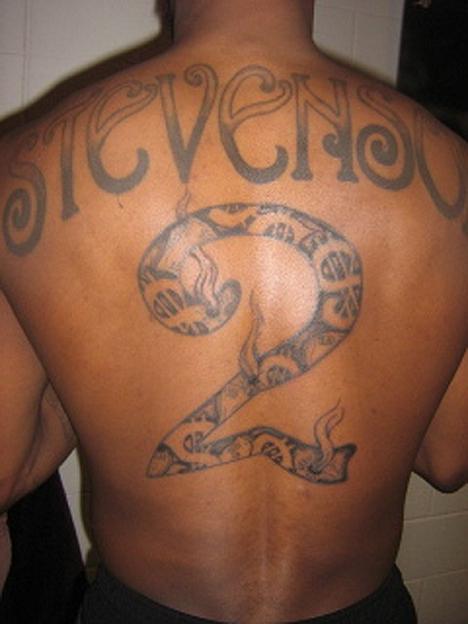 Plecy fajne tatuaze na Tatuaże na