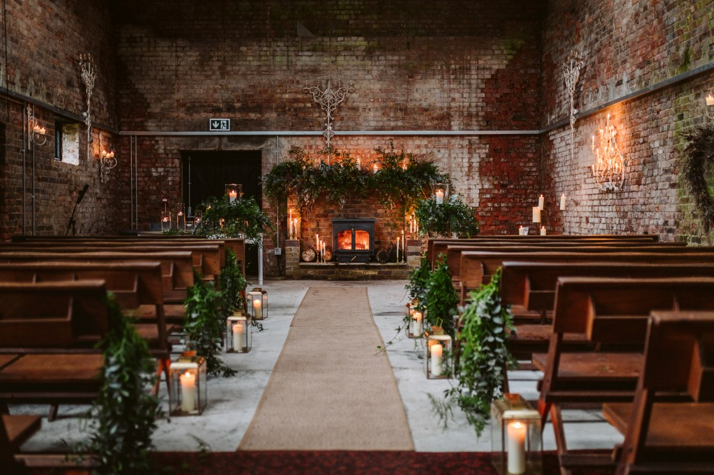Ceremonies at Botley Hill Barn by Hayley Bray Photography