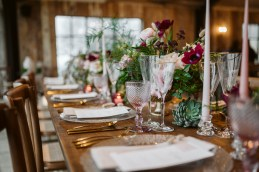 The stunning Surrey wedding barn venue