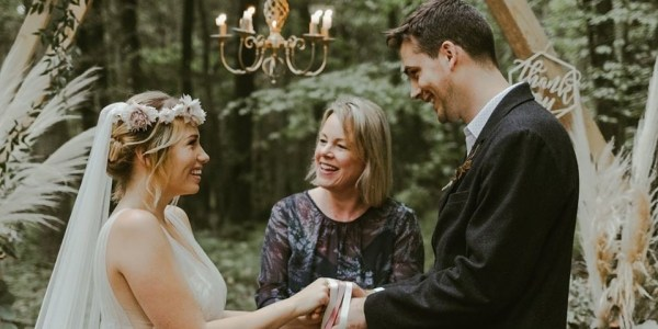 True Blue Ceremonies at Botley Hill Barn, Surrey crop