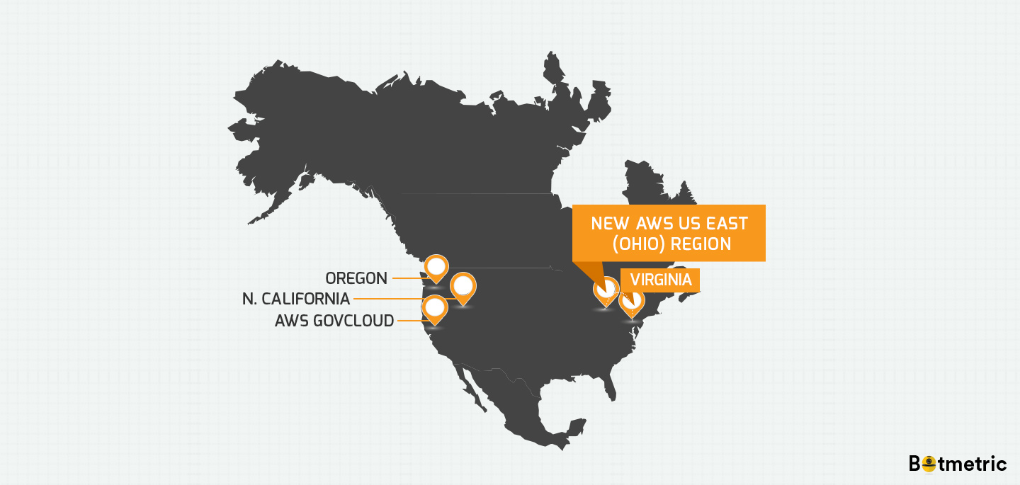 New AWS Ohio Region is a Great News for AWS Virginia Customers