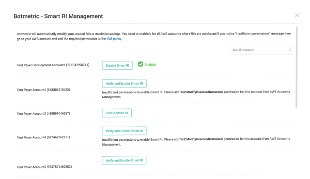 AWS reserved instance management