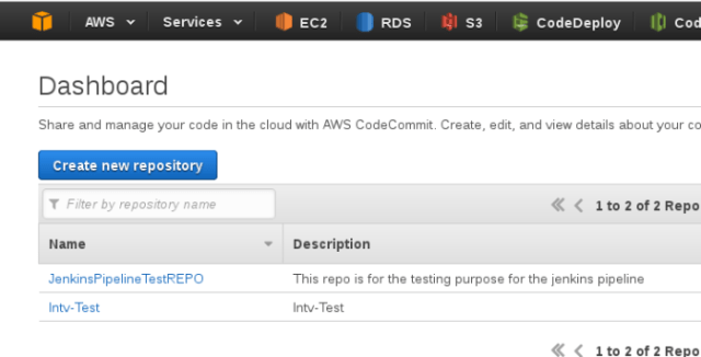 DEPLOYMENT AUTOMATION USING AWS S3, CODEDEPLOY, JENKINS AND CODE COMMIT