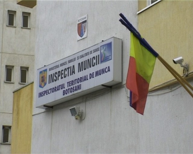 Inspectoratul teritorial de Munca (ITM) Botosani