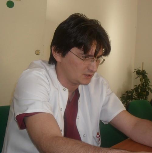 medicul Dorin Scladan, purtatorul de cuvint al Maternitatii Botosani