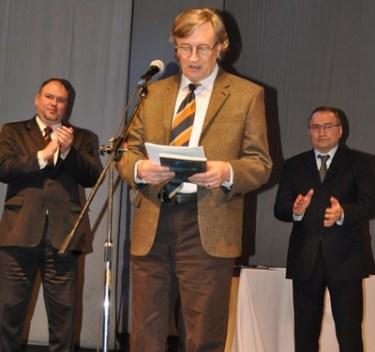 Ion Mircea la Gala de decernare a Premiului Mihai Eminescu