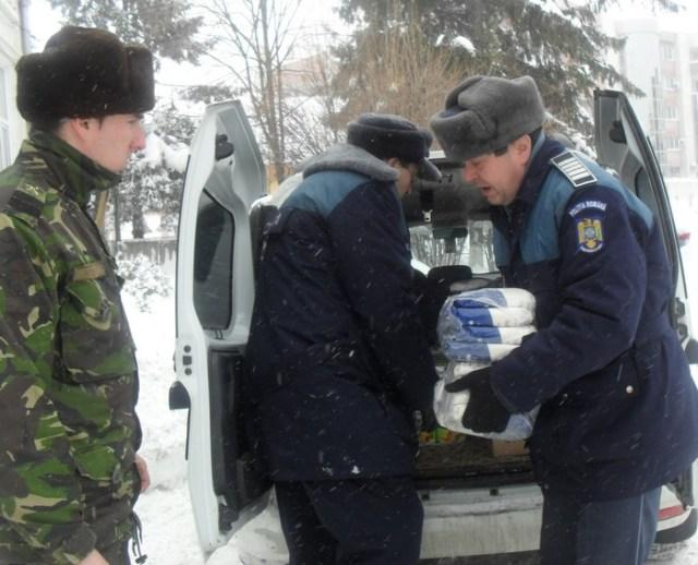 donatii facute de politisti