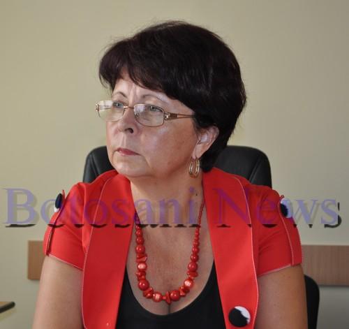 Carmen Nicolau, director interimar CAS Botosani
