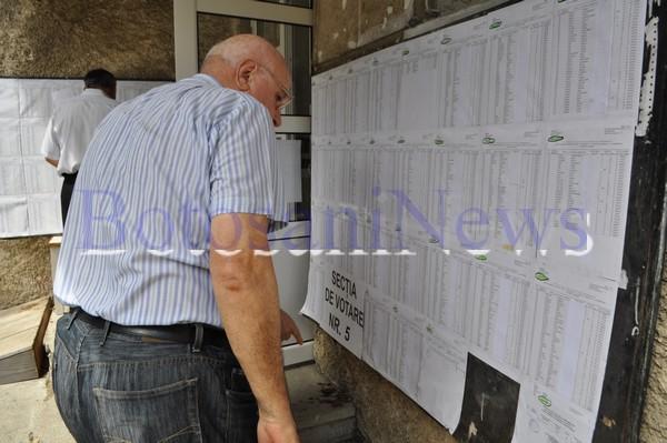liste electorale sectii de votare
