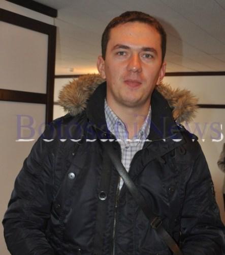 Lucian Iulian Diac Milatinovici, consilierul presedintelui CJ Botosani