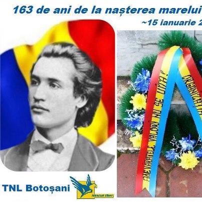 163 de ani de la nasterea lui Eminescu