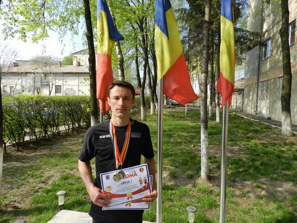 Iulian Rotariu- pompier campion la cros