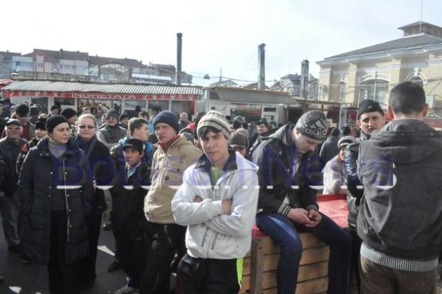 protest al pietarilor din Botosani