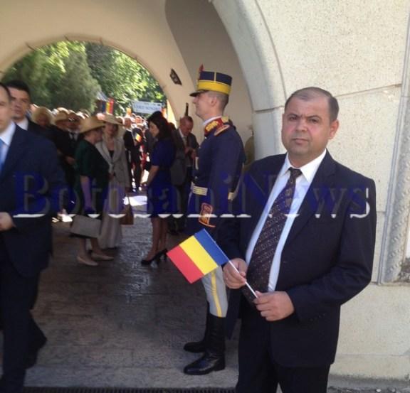 primarul de Trusesti, Mihai Puruhniuc, la casa Regala