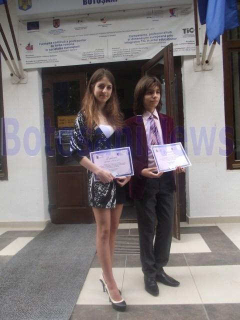 elevii anului 2013 iuliana parasca silviu cucuiet