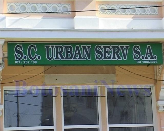 Urban Serv SA, stiri, Botosani,