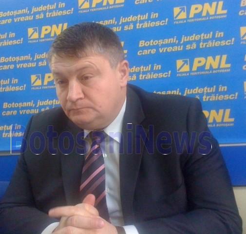 Florin Turcanu la sediul PNL Botosani