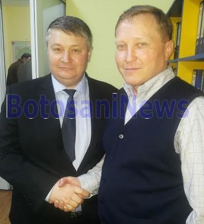 Florin Ţurcanu şi Ionică Nechifor, vineri, la sediul PNL Botoşani