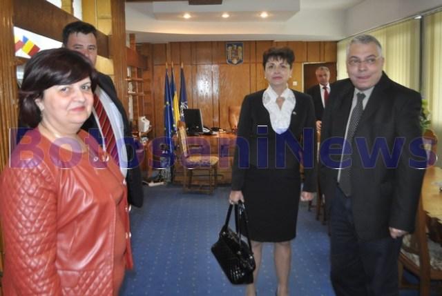 secretar de stat in ministerul Sanatatii, Petru Melinte, la Botosaniv