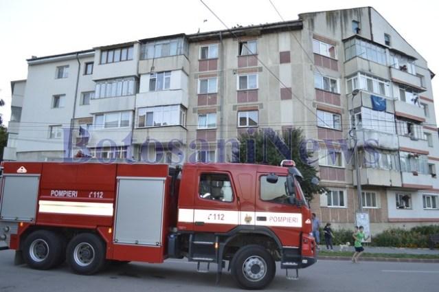 masina pompieri bloc botosani