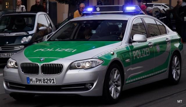 masina de politie in Germania