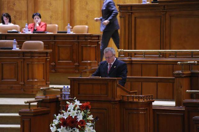 Cristian Roman in Parlament