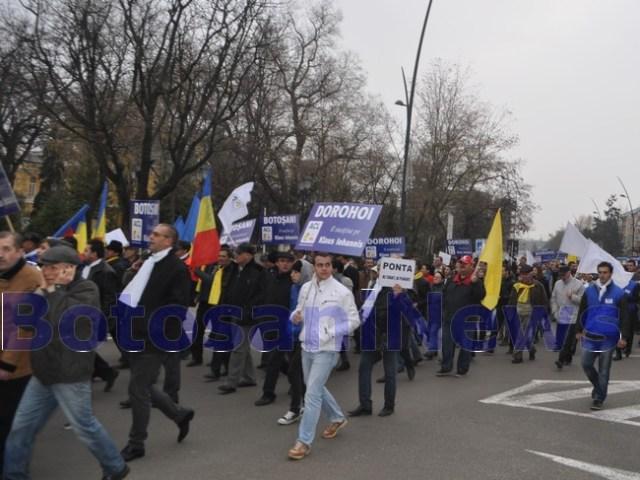 mars organizat de ACL Botosani