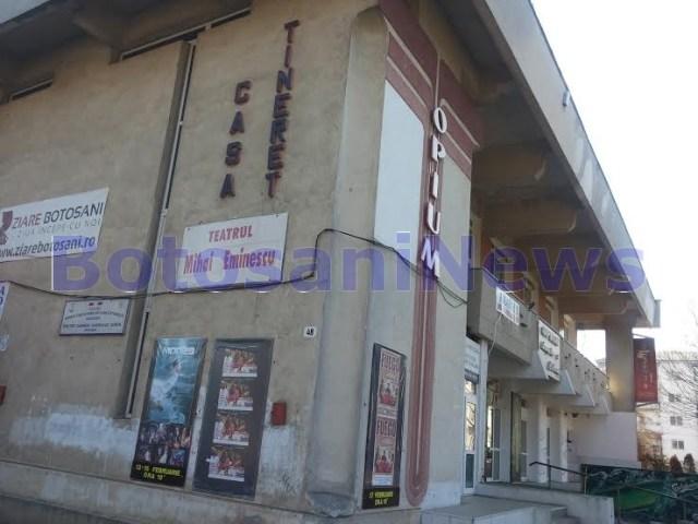 Casa Tineretului- Teatrul Mihai Eminescu Botosani