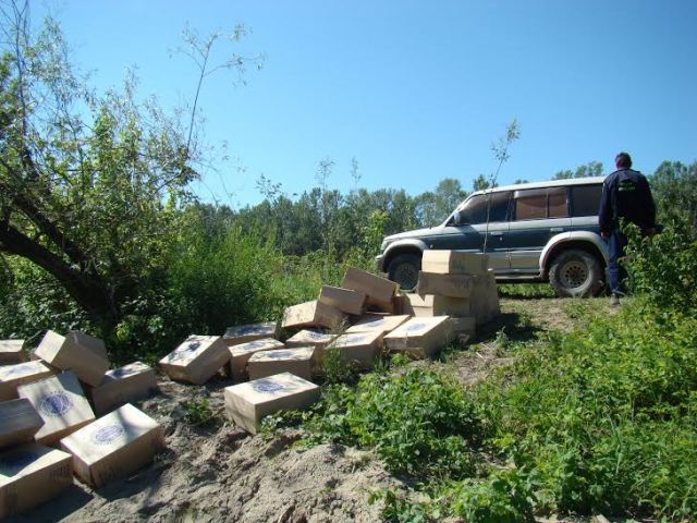captura tigari de contrabanda- politia de frontiera botosaniv