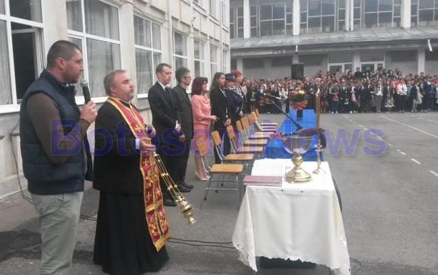 deschidere an scolar la Colegiul Mihai Eminescu- botosani