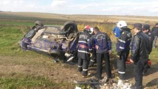 accident masina rasturnata 3