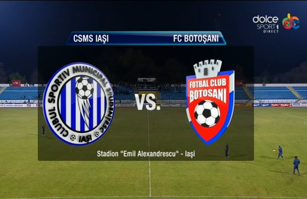 CSMS Iasi- FC Botosani