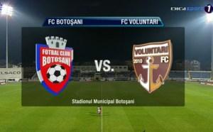 FC Botosani- FC Voluntari