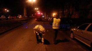 accident pe strada Imparat Traian -Botosani