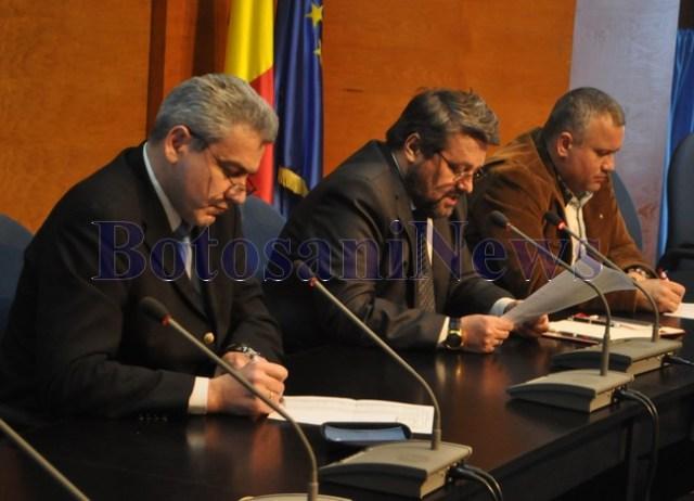 sedinta CJ Botosani- impartire buget