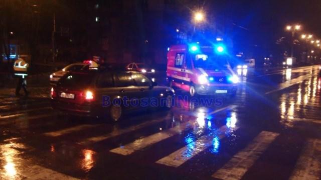 accident pe trecerea de pietoni- Calea Nationala- Octav Onicescu- Botosani