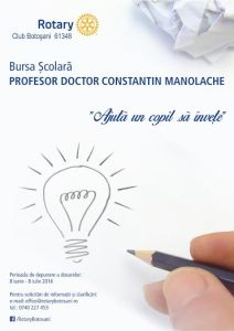 Bursa scolara Rotary Botosani