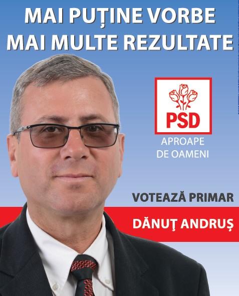 Dan Andrus- candidat PSD Paltinis- Botosani