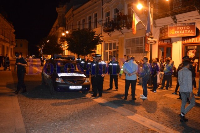 accident politie locala centrul vechi botosani