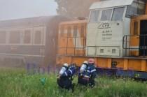 pompieri locomotiva tren