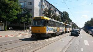 tramvaie blocate strada primaverii- botosani
