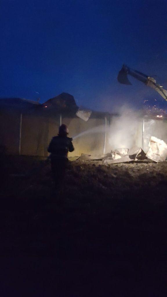 incendiu casa- pompieri - botosani