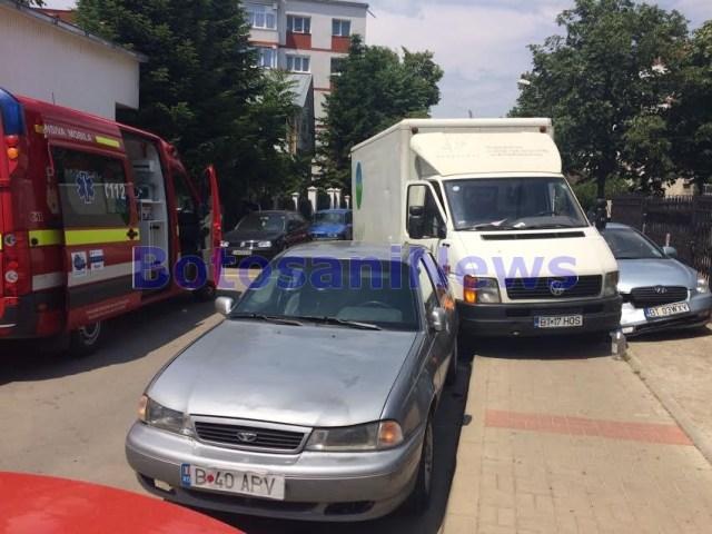 accident strada octav bancila- botosani