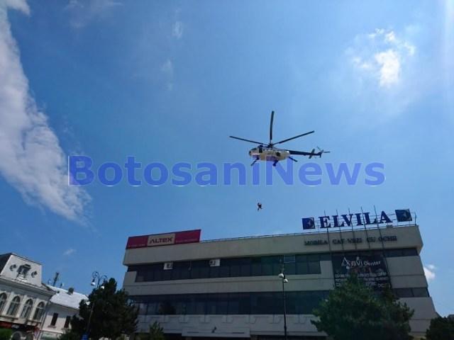 elicopter MAI salvare victime Botosani