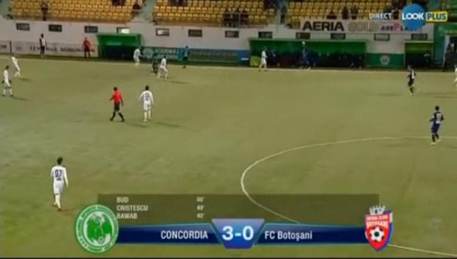 concordia- fc botosani 3 -0