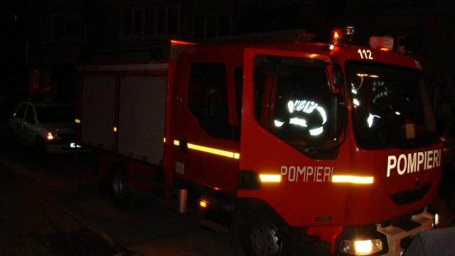 pompieri noaptea, stiri, botosani