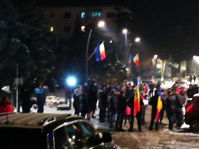 proteste, stiri, botosani, piata revolutiei (1)
