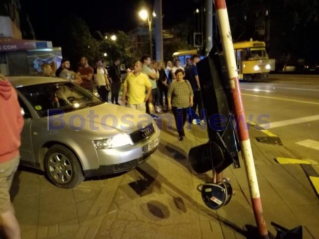 accident calea nationala, stiri, strada octav onicescu , botosani