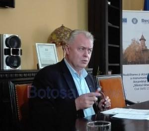 catalin flutur, primarul municipiului Botosani