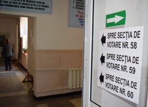 votare, stiri, sectie de votare, alegeri , botosani